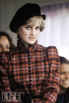 Princess Diana attends the Braemar Highland games in Scotland .