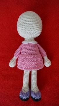Amigurumi Free Patterns: Amigurumi Little Doll-Free Pattern
