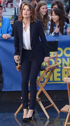 Cobie Smulders 'Good Morning America' ABC Times Square Studios, New York 29th April 2015