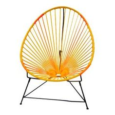Orange & Yellow Acapulco Chair