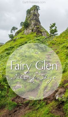 Fairy Glen, Isle of Skye, Scotland.  Travel photography | Drone Video | Travel Inspiration
