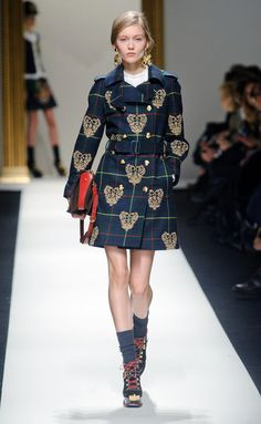 Moschino-MFW FW14 I love it!