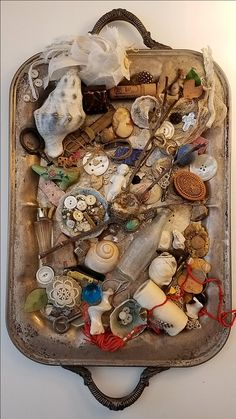 Vintage collection of curiosities