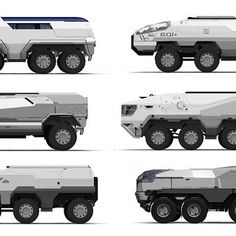 Vehicle sketches by Sam Brown on ArtStation. Army Vehicles, Armored Vehicles, Concept Art World, Concept Cars, Scrap Mechanics, Hover Bike, Future Transportation, Rc Tank, Armored Truck