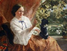 The obedience class - Sophie Anderson:
