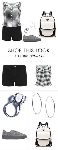 """""""Sunday Afternoon"""" by mprocedi ❤ liked on Polyvore featuring Frame, Collectif, Kill Star, Michael Kors and Puma"""