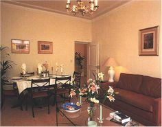 Princess Diana's dining room at Kensington Palace