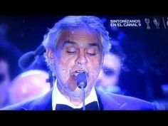 ANDREA BOCELLI NESSUM DORMA en vivo concierto PLÁCIDO EN EL ALMA Madrid ...