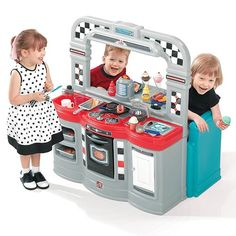 Step2 50s Diner 882100 | Step2 Play Kitchens and Toy Kitchens http://www.activitytoysdirect.com/step2/50s-diner/p327