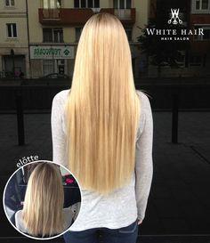 WhiteHair Hajshop | Hajhosszabbítás nálunk vásárolt póthajból Hair Shop, White Hair, Extensions, Salons, Long Hair Styles, Beauty, Beleza, Lounges, Living Rooms