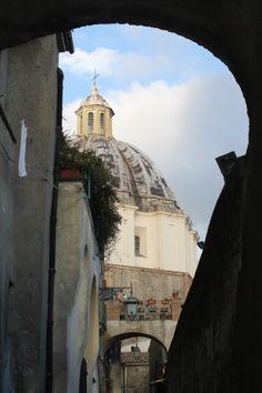 la cattedrale di santa margherita vista dalla porticella, Viterbo, Lazio