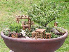 On the #Plow&Hearth Blog: Fairy Garden Basics: Soil and Plant Selection #fairygarden #miniaturegarden