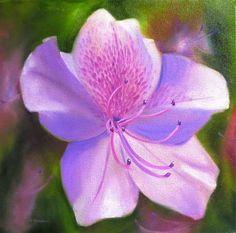 Lavender - Original Fine Art for Sale - © by Carol Keene