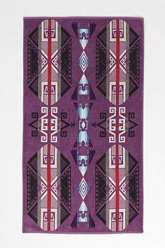 Pendleton Purple Hills Towel - Urban Outfitters