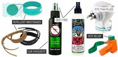 What to pack for Thailand: The mosquito repellenet toiletries you'll need