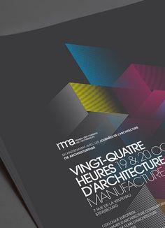 Les produits de l'épicerie / design graphique / Vingt-Quatre heures d'architecture / RMA