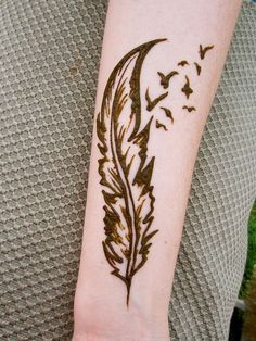 Fading feather | Flickr - Photo Sharing! | Henna | Pinterest