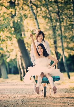 we got married. kim hyun joong y hwang bo