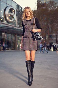 Milla by Trendyol Siyah Elbise MLWAW125742 %46 indirimle 84,99 TL Trendyol'da