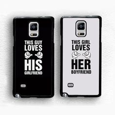 Find More Phone Bags & Cases Information about 2pcs/lot Her Boyfriend Duo…