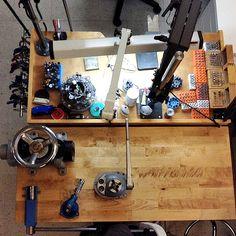 with Nodeform Designs, Los Angeles, USA — Space Unseen Shop Organisation, Jewelers Workbench, Creative Zen, Cnc Milling Machine, Zen Space, Pick 3, Workspace Inspiration, News Studio, Bridal Ring Sets