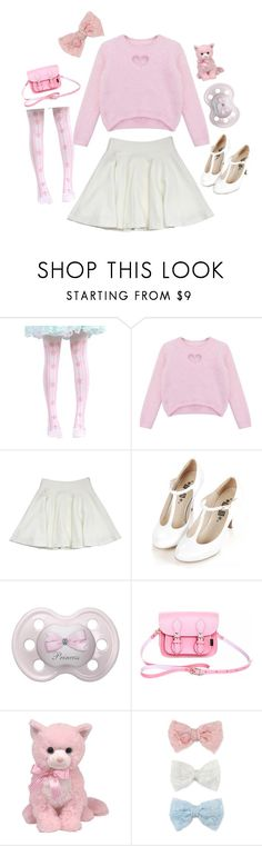 """Pink Princess"" by itty-bitty-princess ❤ liked on Polyvore featuring Chicnova Fashion, Milly, Retrò, Zatchels, Decree, ddlg, cgl and mdlg"