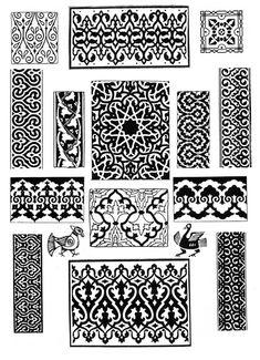 орнамент арабика - Поиск в Google