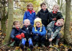 Forest School fun at Summerhill Country Park.