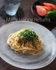 菜 mimo.731 | WEBSTA - Instagram Analytics Kazumi, Happy Returns, Spaghetti, Homemade, Dishes, Ethnic Recipes, Instagram, Food, Home Made