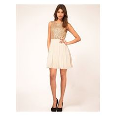 dress with sequin bodice