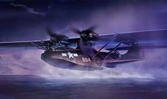 1945 ... PBY Catalina 'Black Cat'