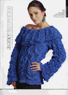 Receita Tricô Fácil   Revista Tejer La Moda Nº 9 abril de 2006 (espanhol)   12 Modelos em Tricô para copiar+5 parainspirar-se         ...