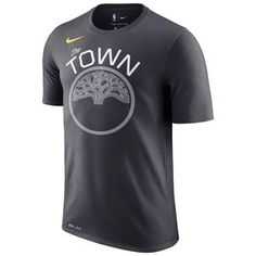 78c427b8a44b Golden State Warriors Nike Dri-FIT Men s Hardwood Classic Edition Kevin  Durant  35 Game Time Name   Number Tee - Gold
