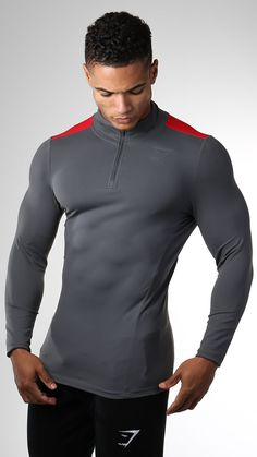 The Gymshark Edge 1/4 Zip Pullover is a fitness pullover designed to be your go-to outer layer in the gym