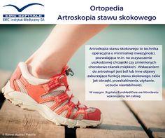 Czy wiecie czym jest artroskopia stawu skokowego i jakie są do niej wskazania?