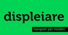 Displeiare (to #display). Dispiegare la visualizzazione delle Pleiadi. #itanglish