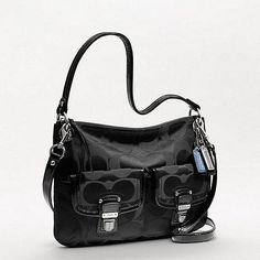 EUC Coach Poppy Signature Hippie Crossbody/shoulder. Starting at $60 on Tophatter.com!