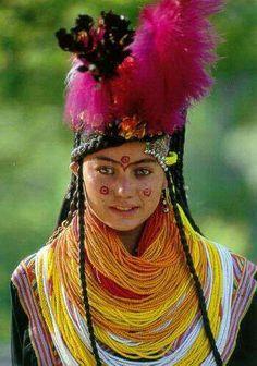 Kalash People. North Paquistan