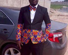 Blazer vintage pour hommes/Dashiki Blazer/Ankara conçu/Kente mélange tendance africaine blazer blazer africaine vêtements pour hommes/sur-mesure kente Blazer