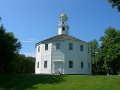 The Round Church, Richmond VT  photo by Jimmy Emerson