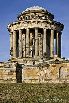 Yard art?: Castle Howard Mausoleum - England by Steve Allen, via Dreamstime