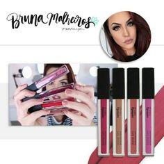 Você é louca por batom? 💋 As cores e a alta cobertura do Batom Líquido Mate Liquid Lips já conquistaram a @brunamalheirosmakeup e também vão te encantar. #Contém1g #MakeUp #Make #Maquiagem #batom #SaiuNaMidia