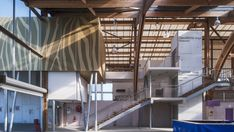 """Image 6 of 16 from gallery of The 'Hippodrome De La Baie"""" / NOMADE Architects. Photograph by Patrick Miara"""