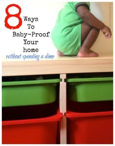 Be safe and less sorry with these baby proofing ideas for your home.
