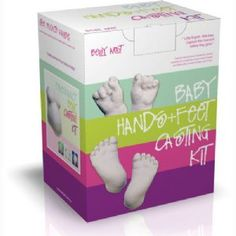 Belly Art DIY Baby Hands & Feet Kit