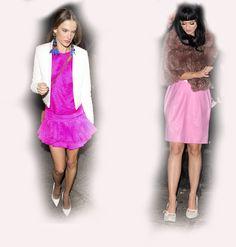 pink dress, Alessandra Ambrosio VS Katy Perry fashion diva who-wore-it-better celeb celebrity
