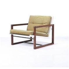 Maurice Martine - Wood dowel lounge chair