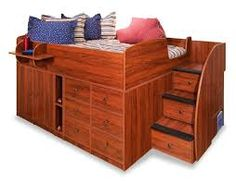 full size loft bed - Google Search