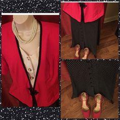 Selling this Vintage vintage vintage! Top and maxi skirt in my Poshmark closet! My username is: ingridbutler. #shopmycloset #poshmark #fashion #shopping #style #forsale #Tops