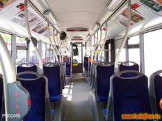 czech bus interior